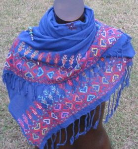 Sinai embroidered shawls