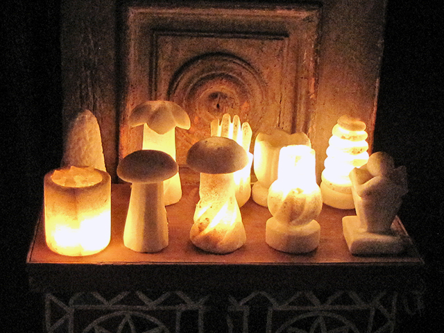 Salt Lamps-Siwa Oasis