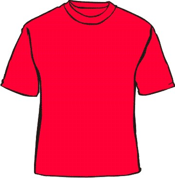 The gallery for plain red t shirt template for Plain t shirt template